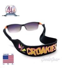 สายคล้องแว่น Croakies XL รุ่น 40th Anniversary Geo Black