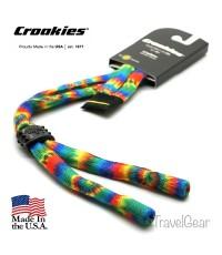 สายคล้องแว่นตา Croakies XL รุ่น Poly Suiters XL Tie-Dye Haight Ashbury