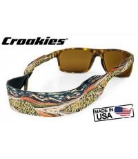 สายคล้องแว่นตา Croakies XL Print รุ่น Sub Abby Paffrath White Light