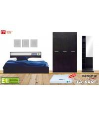 ชุดห้องนอน Easy - Set (H) สีเวงเก้