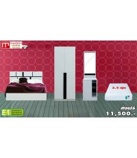 ชุดห้องนอน Lite - Set (F) สีขาว