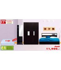 ชุดห้องนอน Lite - Set (D) สีเวงเก้_Copy