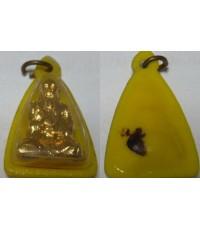 รูปหล่อเซียนจีน เนื้อทองเหลืองปั้ม กะไหลทอง