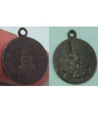 พระเครื่อง เหรียญหลวงพ่อโสธรปี2509 เนื้อเงินลงถม พิมพ์หน้าเล็ก