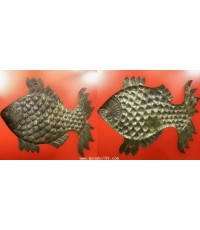 พระเครื่อง ปลาตะเพียน หลวงพ่อแฉ่ง วัดบางพัง จ.นนทบุรี