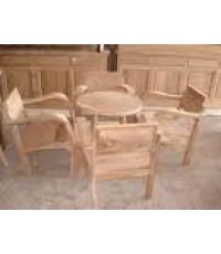 เฟอร์นิเจอร์ไม้ -โต๊ะชุด 2