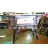 โต๊ะทรงจีนลายมังกร