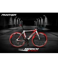 จักรยานเสือหมอบ Panther รุ่น March Pro (มาร์ช โปร) มือตบ รถสวย คุณภาพดี อะไหล่ ดีไซน์งาม