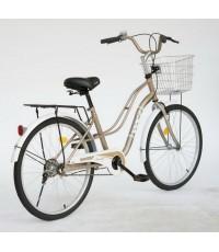 จักรยานแม่บ้าน WCI รุ่น Cindy วงล้อ 24 แนววินเทจ ทรงผ่าหวาย
