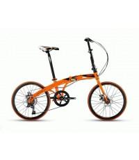 จักรยานพับได้ TRINX DOLPHIN1.0วงล้อ20 นิ้ว เกียร์ 7 สปีด เฟรมเหล็ก ดุมแบริ่ง
