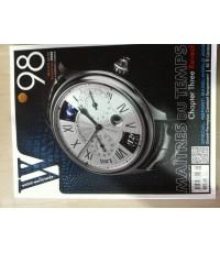นิตยสารนาฬิกาWatch World Wide Vo.98 มือสอง ฉบับภาษาไทย