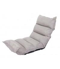 เบาะรองนั่งญี่ปุ่นปรับระดับ,เบาะนั่งสมาธิ,เบาะปรับเอน,ปรับเอนนอน,เบาะปรับนอน สีเทาอ่อน (Light Grey)