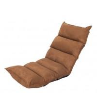 (พร้อมส่ง) เบาะรองนั่งญี่ปุ่นปรับระดับ,เบาะนั่งสมาธิ,เบาะปรับเอน,ปรับเอนนอน เบาะปรับนอน สีน้ำตาลทอง