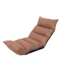 (พร้อมส่ง) เบาะรองนั่งญี่ปุ่นปรับระดับ,ปรับเอน,เบาะนั่งสมาธิ,เบาะปรับนอน,เบาะนั่งพื้น น้ำตาลเข้ม (Ch