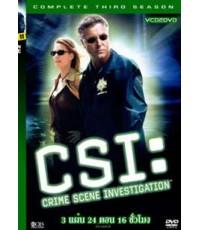 CSI VEGAS - SEASON 3 -[DVD พากย์ไทย-อังกฤษ บรรยายไทย] 6 แผ่น