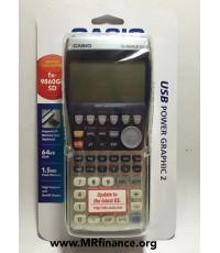 เครื่องคิดเลขกราฟิกคาสิโอ Casio fx-9860GII SD ของใหม่ ของแท้