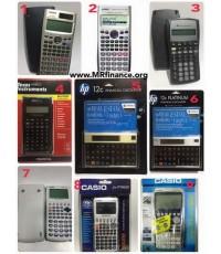 ให้เช่าเครื่องคิดเลขทางการเงิน Casio FC-200V , FC-200 , Texas Instruments TI BA II Plus