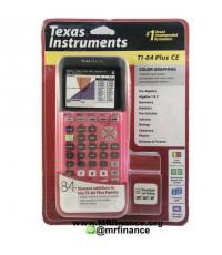 เครื่องคิดเลขกราฟิก Texas Instruments TI-84 Plus CE (Coral) รุ่นใหม่ล่าสุด จอสี วาดกราฟ