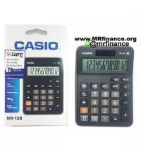 เครื่องคิดเลขตั้งโต๊ะคาสิโอ Casio MX-12B สีดำ ของใหม่ ของแท้