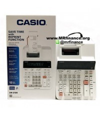เครื่องคิดเลขพิมพ์กระดาษคาสิโอ Casio DR-210R  รุ่นใหม่ล่าสุด