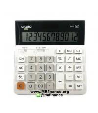 เครื่องคิดเลขตั้งโต๊ะคาสิโอ Casio DH-12 สีขาว ของใหม่ ของแท้