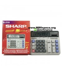 เครื่องคิดเลขตั้งโต๊ะชาร์ป Sharp EL-2135 ของใหม่ ของแท้
