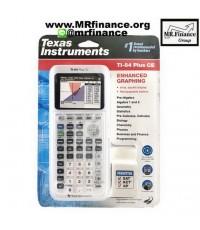 เครื่องคิดเลขกราฟิก Texas Instruments TI-84 Plus CE สีขาว ของใหม่ ของแท้ รุ่นใหม่ล่าสุด