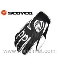 ถุงมือ Scoyco ถุงมือ Scoyco รุ่นmx12B  สีดำ