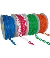 โซ่พลาสติก/Plastic chain/โซ่กั้นเขต