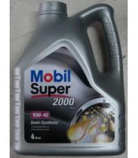 Mobil Super 2000  10W-40 4 ลิตร