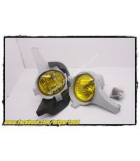 ชุดติดตั้ง ไฟสปอร์ตไลท์ ไฟตัดหมอก TOYOTA HILUX VIGO 2004 สีเหลือง