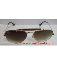 (สินค้าขายแล้ว) แว่นตากันแดด RAY-BAN รุ่นORB3030 สินค้าฝากขาย ภาพสินค้าจริง