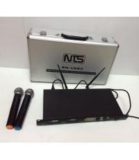 NTS SN-U660 ไมค์ลอยมือถือคู่ ย่านความถี่ UHF