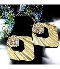Heart - diamond Shell Pierce รหัสสินค้า E007