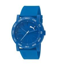 PUMA Watch PU103201002 หน้าปัดสีฟ้า สายสีฟ้า