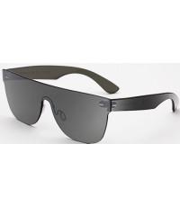 Retrosuperfuture Tuttolente Flat Top Silver Sunglasses Super-V7P