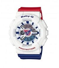นาฬิกา คาสิโอ Casio Baby-G White Tricolor series รุ่น BA-110TR-7ADR