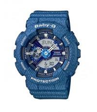 นาฬิกา คาสิโอ Casio Baby-G Denim Color series รุ่น BA-110DC-2A2
