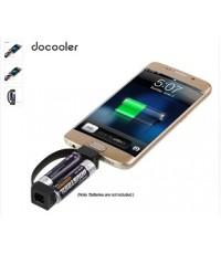 ชาร์จโทรศัพท์มือถือแบบพกพาแม่เหล็กM Icro USBชาร์จฉุกเฉินแบตเตอรี่Aaขับเคลื่อนสำหรับAndroid