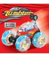 มีคลิปให้ดู!! รถ Stunt Flash Car บังคับวิทยุ ยกล้อ ตีลังกา มันส์ดีครับ มีถ่าน+ที่ชาร์จพร้อมเล่น