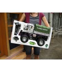 ขายดี!! รถบรรทุกทหาร Jungle Rescue ล้อใหญ่ แรงเร็ว 25km/ชั่วโมง มีไฟหน้า-ท้าย มีโช้คหน้า-หลัง