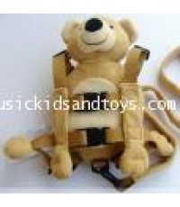 Goldbug : 2in1 Harness Buddy - little bear