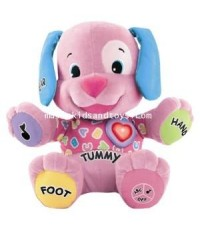 Fisher Price : Laugh and Learn Puppy - Pink