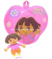 Dora the Explorer : Smooshie Toddler Backpack  Plush Doll