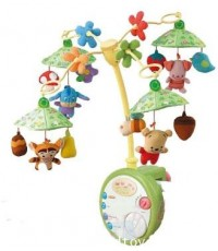 Tomy : Baby Pooh Light-up Cot Mobile from Japan