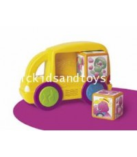 Fisher Price :  Barney Musical Match-up Bus
