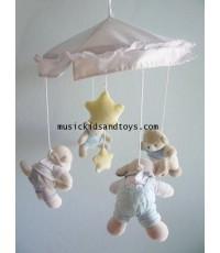 Hanging Crib Mobile - Little Animals