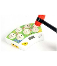 Classical gophers beat mouse game light sound -keychain size