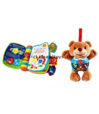 VTech : Happy Lights Bear and Rhyme  Discovery Book Set