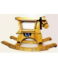 Rocking Horse with Child Guard